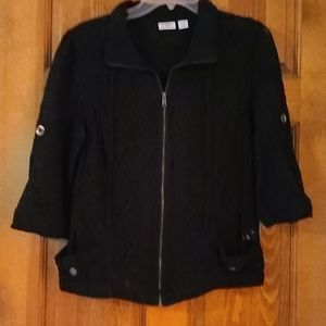 Lacy black Cato jacket